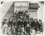 Unidentified church congregation