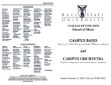 Campus Band and Campus Orchestra