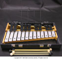 Soprano glockenspiel with case