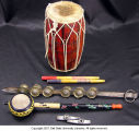 Rhythms of India, elementary 10 players set kit