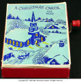 Christmas card music box