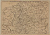 New York Times war map : the western front in France and Belgium section 4