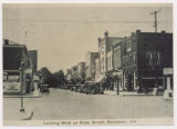 State St. looking west, Pendleton, Indiana