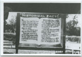 Falls Park historical facts billboard