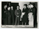 Endurance flight group with Eleanor Roosevelt