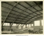 Gymnasium under construction