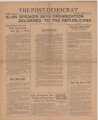Post-Democrat (Muncie, Ind.) 1925-06-19, Vol. 05, No. 22