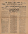 Post-Democrat (Muncie, Ind.) 1925-09-03, Vol. 05, No. 31