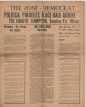 Post-Democrat (Muncie, Ind.) 1925-09-17, Vol. 05, No. 33