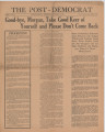 Post-Democrat (Muncie, Ind.) 1925-09-24, Vol. 05, No. 34