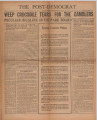 Post-Democrat (Muncie, Ind.) 1930-01-17, Vol. 09, No. 51