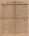 Post-Democrat (Muncie, Ind.) 1931-07-31, Vol. 11, No. 28