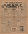 Post-Democrat (Muncie, Ind.) 1933-07-21, Vol. 13, No. 27