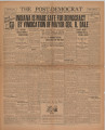 Post-Democrat (Muncie, Ind.) 1933-08-04, Vol. 13, No. 29
