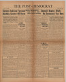 Post-Democrat (Muncie, Ind.) 1939-08-11, Vol. 20, No. 11