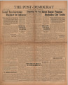Post-Democrat (Muncie, Ind.) 1939-09-29, Vol. 20, No. 18