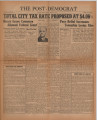Post-Democrat (Muncie, Ind.) 1938-08-26, Vol. 18, No. 18
