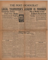 Post-Democrat (Muncie, Ind.) 1938-10-14, Vol. 18, No. 25