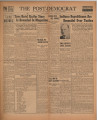 Post-Democrat (Muncie, Ind.) 1944-10-27, Vol. 25, No. 20