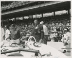 United States Auto Club (USAC) Technical Committee member and Gene Davis, Warner Gear Chief...