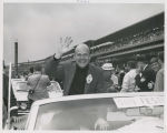 Werner Klemperer waving in pace car