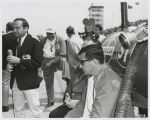 Joe Leonard, Andy Granatelli, and Jim McKay