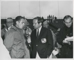 Gary Bettenhausen and Jim McKay