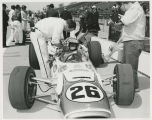Rodger Ward in car
