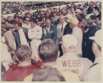 Jim Clark, Mel Kenyon, and Chuck Hulse at Indianapolis 500