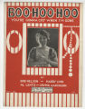 Boo-hoo-hoo : you're gonna cry when I'm gone