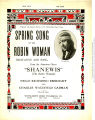 Spring song of the Robin woman : recitative and song