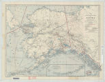 Map of Alaska : showing latest explorations by U.S. Geological Survey and U.S. Coast and Geodetic Survey