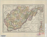 Rand McNally & Co.'s universal atlas map of West Virginia