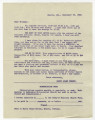 Harry Adams Hersey and St. John's Universalist Church members correspondence