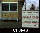Ball State University Habitat for Humanity chapter's involvement following Hurricane Hugo