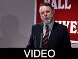 Terry Waite news conference