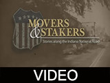 Movers & Stakers : Stories along the Indiana National Road