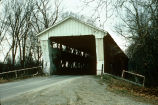 Spencerville Bridge over St. Joe River (Dekalb County, Indiana)