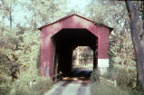 Wallace Bridge over Sugar Mill Creek (Fountain County, Indiana)