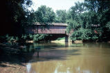 Medora Bridge over East Fork of White River (Jackson County, Indiana)