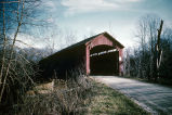 Baker's Camp Bridge over big Walnut Creek (Putnam County, Indiana)