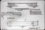 South elevation plan of Ladoga Bridge (Montgomery County, Indiana)