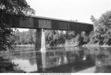 Williams Bridge over East Fork of White River (Lawrence County, Indiana)
