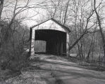 Harry Evans Bridge over Rock Run Creek (Parke County, Indiana)