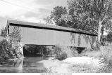 Melcher Bridge over Leatherwood Creek (Parke County, Indiana)