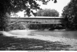 Jackson Bridge over Sugar Creek (Parke County, Indiana)