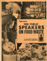 Information for public speakers on food waste