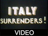 Italy surrenders!