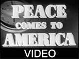 Peace comes to America