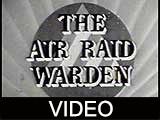 Air Raid Warden's Report